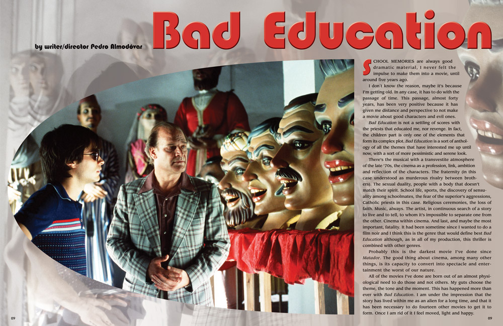 Bad Education layout