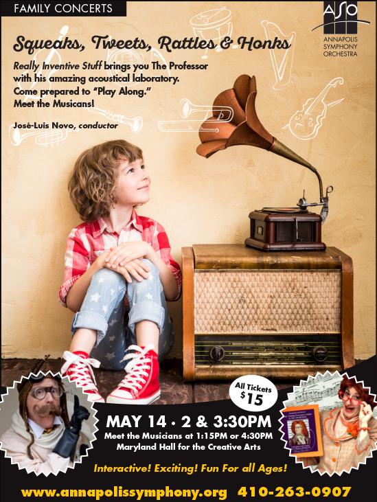 Family Concert Flyer