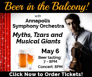 Annapolis Symphony Digital Advertisement