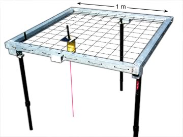Ecological 1 Meter Square Sampling Laser Device