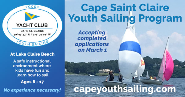Cape Youth Sailing Social Media Advertisement